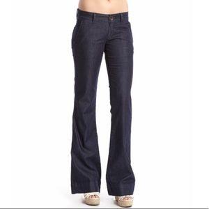 Dear John 29 Zodiac Dark Wash Trouser Flare Jeans